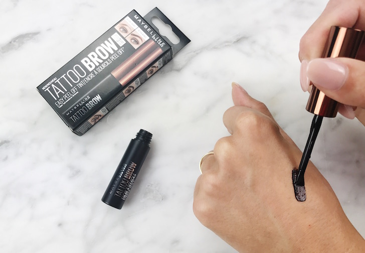 tattoo brow maybelline getest